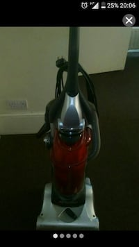 black and red upright vacuum cleaner London