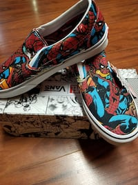 Marvel spiderman Vans men 10 and 9 ,9.5 Toronto, M1T 3L5