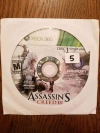 Assassins Creed for XBOX 360 Vaughan, L4L