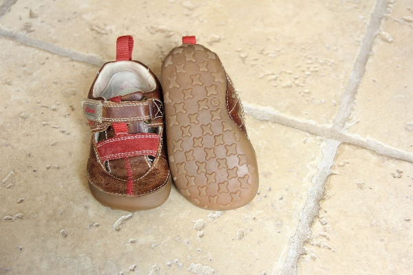 Size 3 Clarks Boy shoes
