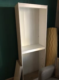 White bookcase with shelves — name your price & come pick up!  Dublin, 94568