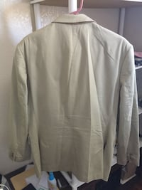 Men's Khaki colored Express Suit Coat 40R San Jose, 95123