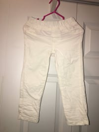 2t,carters caudory winter white pants  Lake Charles, 70601