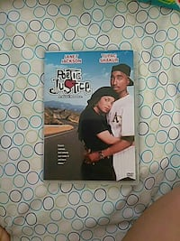 Poetic Justice DVD case