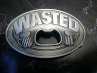 WASTED BELT BUCKLE