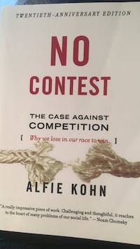 No Contest The Case Against Competition by Alfie Kohn book