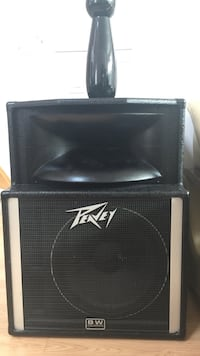 Peavy sp-2a precision transducer speaker 2 units-left & right