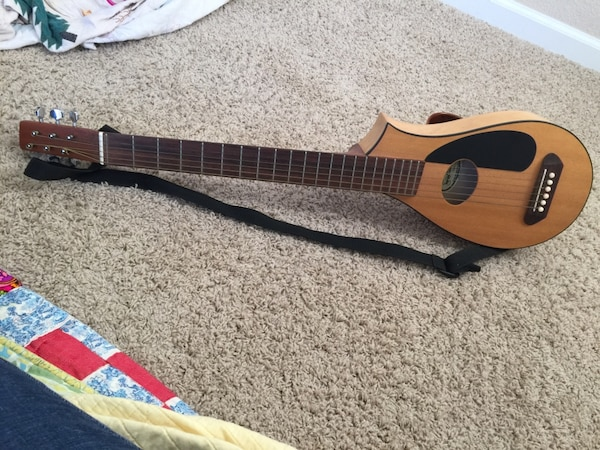 Used Like New Vagabond Travel Guitar Used Once Serious Offers Only