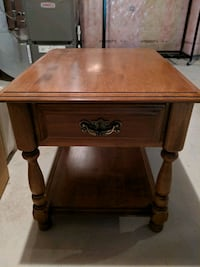 Vintage solid wood coffee and end tables set Innisfil, L9S 0B2