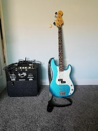 Fender electric bass and amp San Diego, 92128