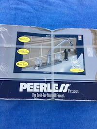 Peerless kitchen faucet with spray