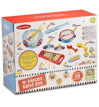 Musical Instrument Set with Xylophone Toddler Band