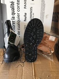 Pair of black leather cold weather field Boots  El Paso, 79938