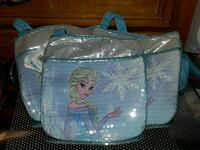 Frozen cross shoulder purses