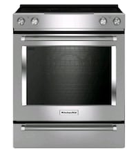 KITCHENAID ELECTRIC SLIDE-IN RANGE  Toronto, M9W 5X8