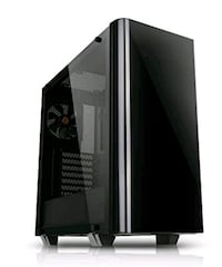 Thermaltake View 21 Dual tempered glass ATX PC cas Maple Ridge, V2X