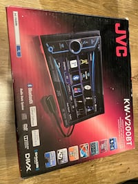 JVC KW-V200BT~DDin Stereo Head unit