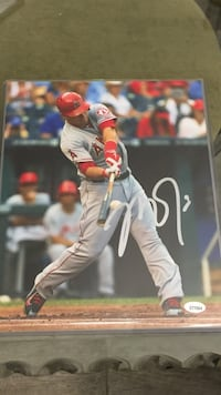 Mike trout autographed photo with coa Lake Worth, 33463