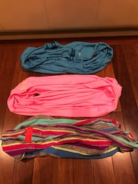 Iviva scarves . Mint condition . 3 styles all priced for immediate sale Edmonton, T6R 0B1
