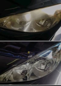 Car Headlight restoration and wash/detail Gambrills