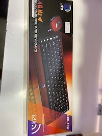 Wıreless mouse and keyboard