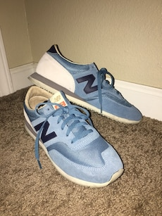 Blue New Balance low top sneakers