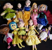 Disney Plush Dolls and More Plush Bundle Hyattsville, 20785