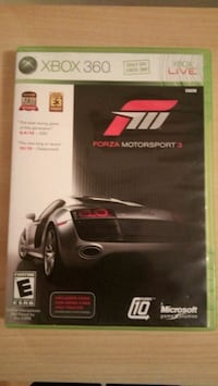 Xbox 360 Forza Motorsport 3 game