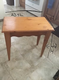 1 END TABLE
