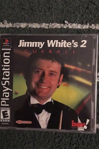 """PLAYSTATION PS1 GAME """"JIMMY WHITE'S 2 CUEBALL"""" Los Angeles, 91325"""