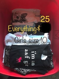 Girls size 10 clothes lot priced to sell  Buffalo, 14218