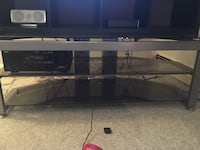 Metal and glass TV stand Woodbridge, 22193