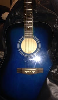 Blue And Black Guitar (Cover Included) Bellwood, 60104