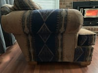 Pair of big, comfy living room chairs  WALDORF