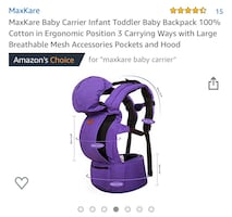 Max Kare Baby Carrier
