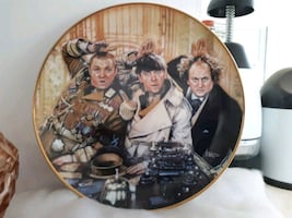 Collector Three Stooges Plate