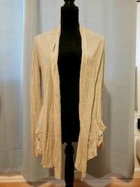 Soft cream cardigan with pockets Paso Robles, 93446