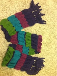 purple and multicolored knit scarf Alexandria, 22309