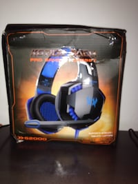 Gaming headset for ps4 and Xbox one Toronto, M9N 2L7