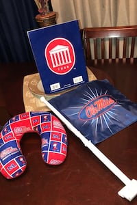 Ole Miss Coloring Book, Flag & Neck Pillow