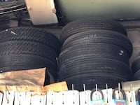 """Bunch of new tires for old cars 13 14 and 15"""" non radial  Sound Beach, 11789"""