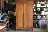 Solid Wood Armoire/TV Cabinet Cedar Lined Drawer by Durham Furniture Fallston, 21047