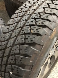 Jeep Wrangler rims and Tires (5)
