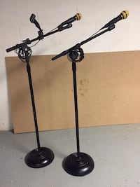 Microphones with stand. 35.00 each. Gettysburg, 17325