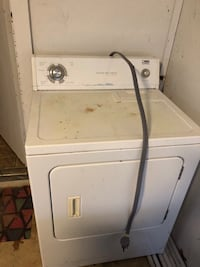 white front load clothes dryer Kingston, 73439