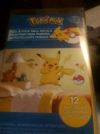 Pokemon Peel and Stick Wall decal Grosse Ile Township, 48138