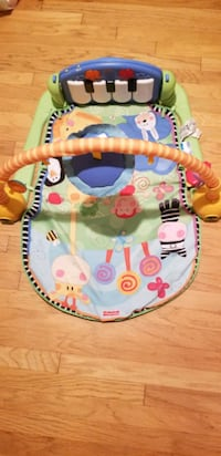 Kick and play piano gym for infants, toddlers