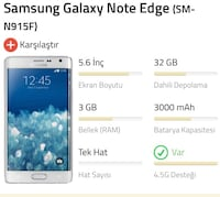 SAMSUNG GALAXY NOTE EDGE (SM-N915F) 8825 km