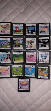Assorted nintendo ds game cartridges Union, 07083
