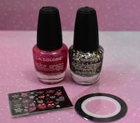 L.A. Colors 4 Piece Nail Polish Set 40 km
